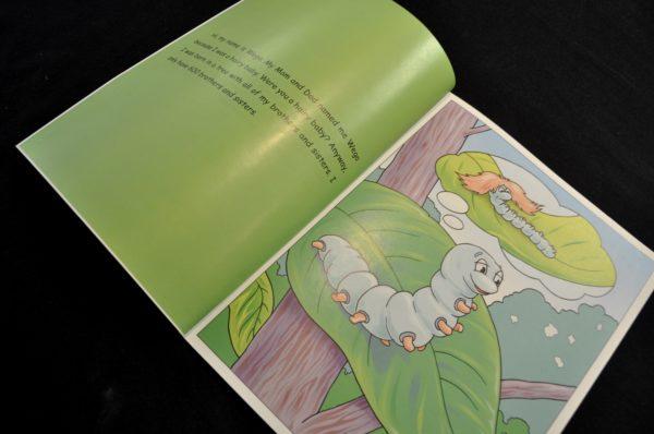 Book - Wego The Wonderful Silkworm