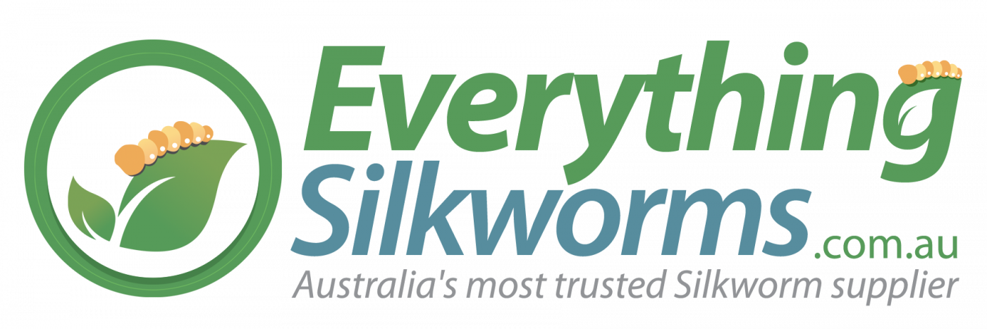 Everything Silkworms logo with icon to the left